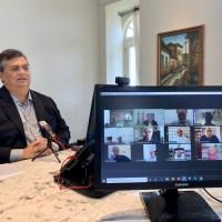 Flávio Dino dialoga com bispos sobre ações de combate ao coronavírus
