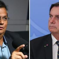 Após ser ameaçado por Bolsonaro, Flávio Dino desafia presidente a vencer eleição no Maranhão