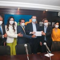 Edivaldo confirma pré-candidatura ao governo em 2022 durante ato de filiação ao PSD