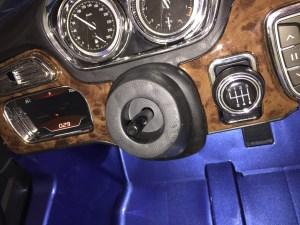 vue habitacle X6 BMW enfant 12 volts électrique
