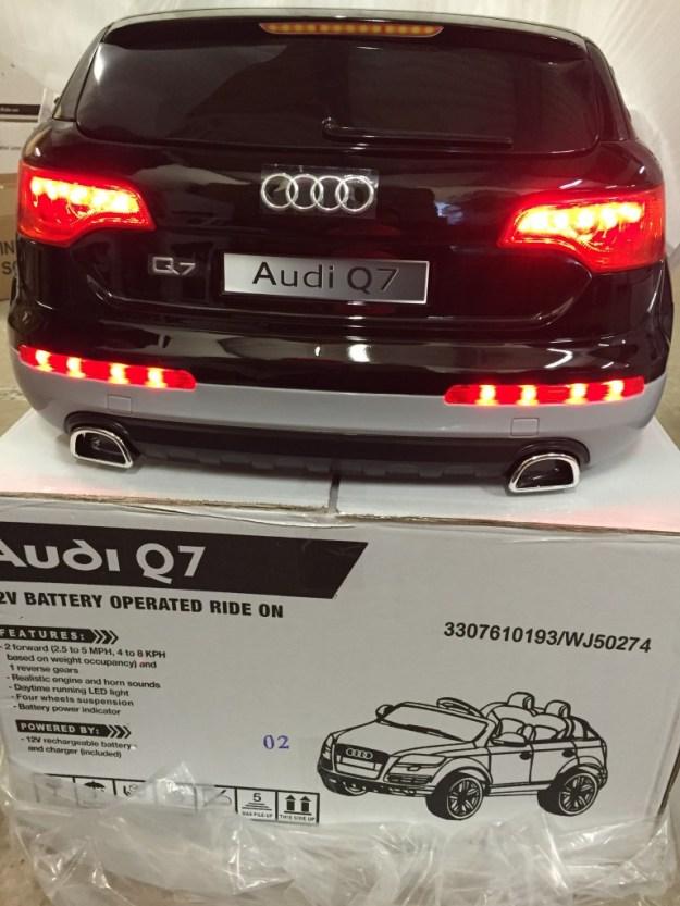 Q7 Pack Tranquillité check LED arrière
