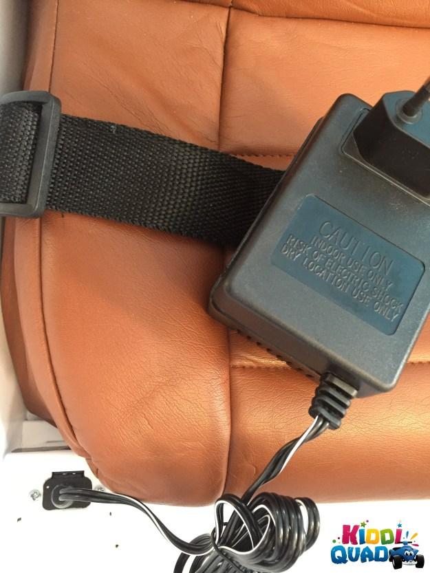 charger mercedes G63 électrique pour enfant