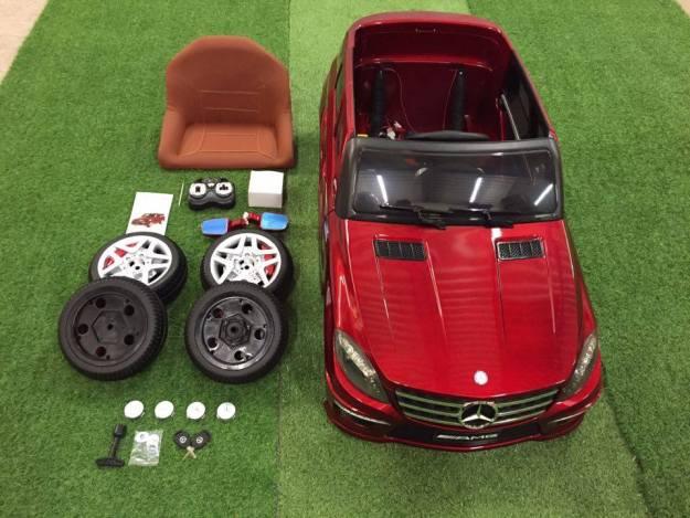 assembler voiture électrique pour enfant