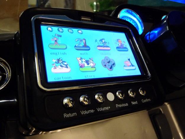 écran tactile de voiture électrique enfant