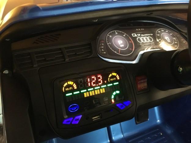 Audi Q7 électrique enfant