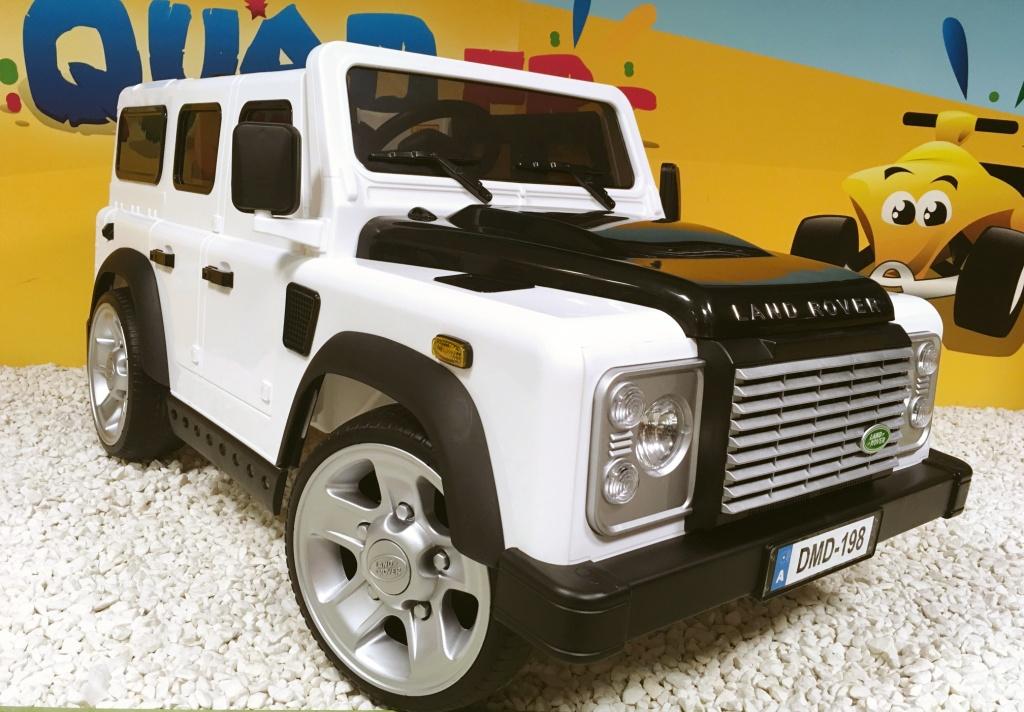 essai land rover defender lectrique pour enfant blog kiddiquad. Black Bedroom Furniture Sets. Home Design Ideas