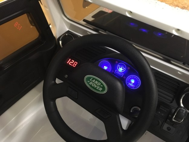 land rover électrique pour enfant