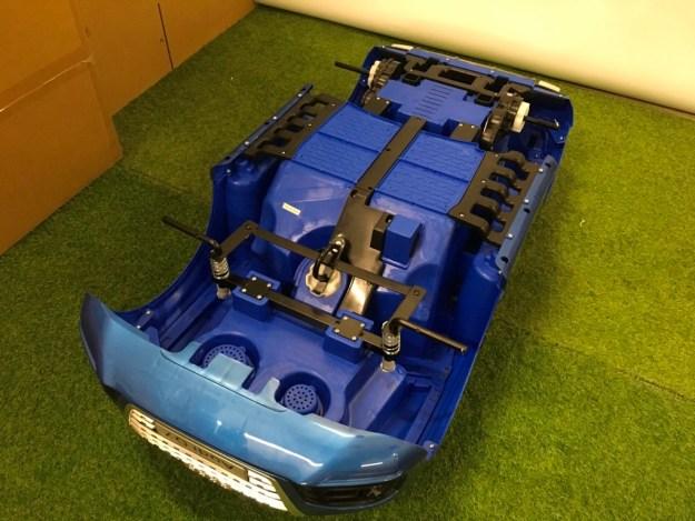 fixer roues audi Q7 12 volts kiddi quad