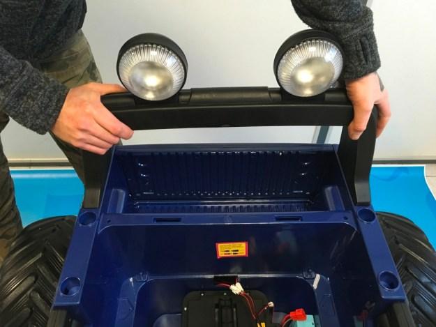 rampe de phares ford ranger monster truck