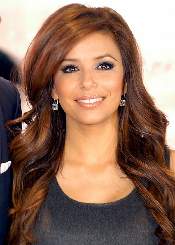Eva Longoria Brown Hair Color