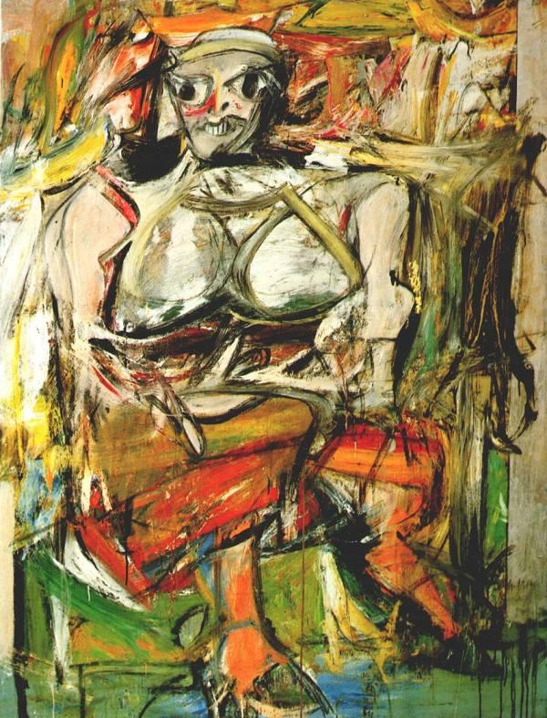 Willem De Kooning Woman 1