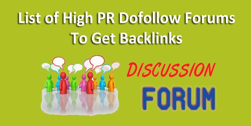 Top High PR DoFollow Forums List to Increase Backlinks