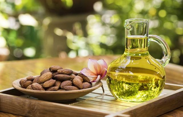 Almond Oil for Dark Knees and Elbow