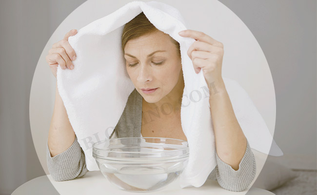 Steam for Skin Allergies