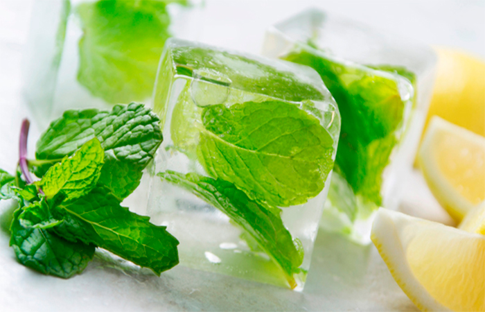 Mint Leaves With Aloe Vera for Scalp Pimples & Acne
