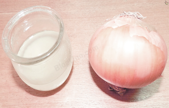 Onion Juice for Scalp Pimples & Acne