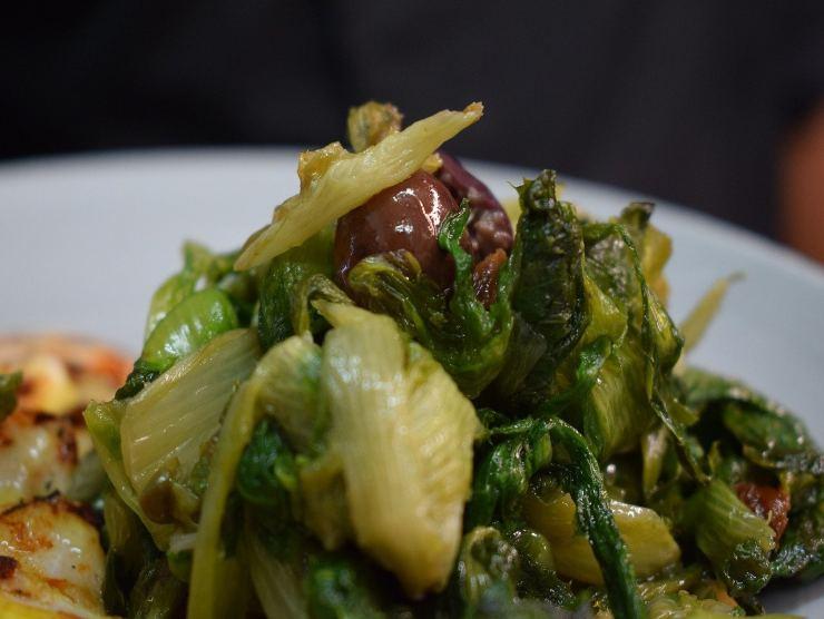 scarola ripassata con olive