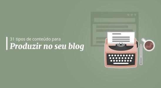 Ebook tipos de conteúdo para blog