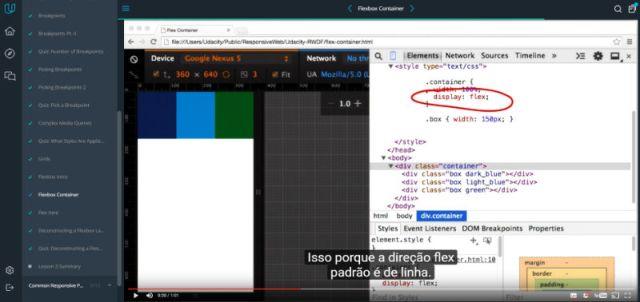Udacity Design Responsivo para web
