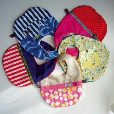 Idee regalo per la nascita bavaglini fai da te  Blogmammait  Blogmammait