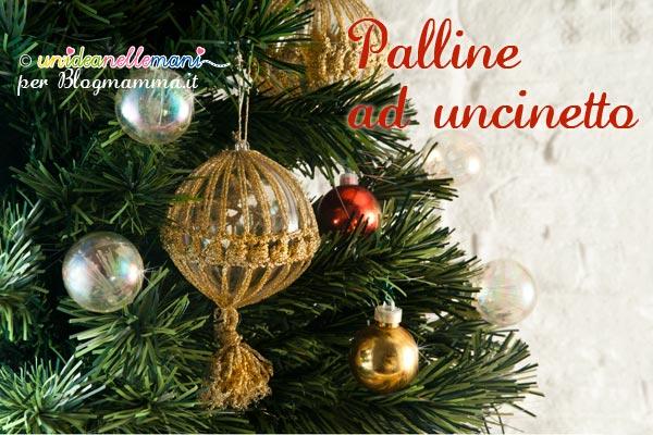 Palline alluncinetto per Natale  Blogmammait  Blogmammait