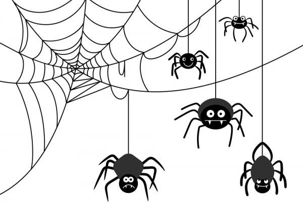 Ragnatele fai da te per Halloween da realizzare coi