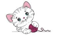 Disegni di gatti da colorare e stampare gratis : Blogmamma.it