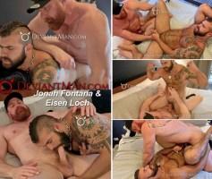 Macho Pup's Grunt Fuck – Jonah Fontana & Eisen Loch Bareback – Online