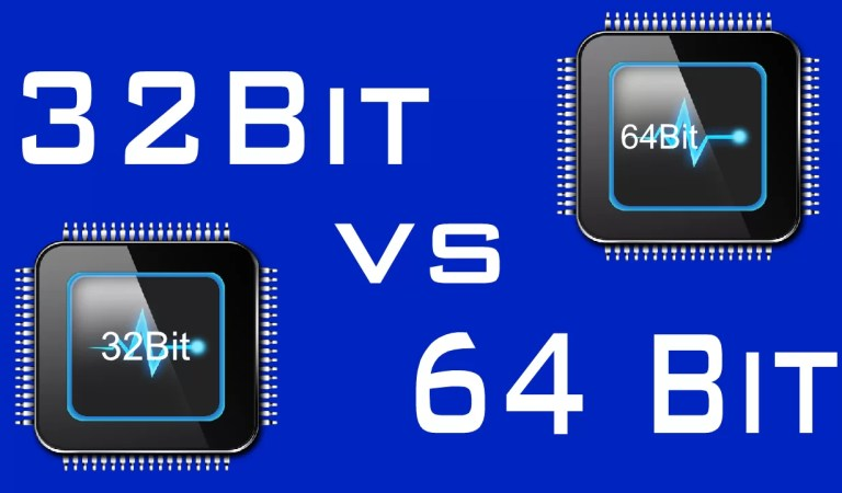 What is the Difference Between 32-Bit and 64-Bit Operating System?