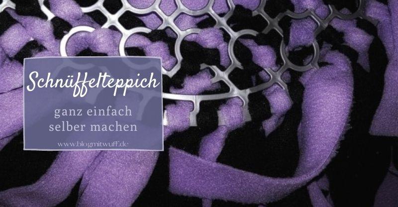 Read more about the article Schnüffelteppich zum nachbasteln
