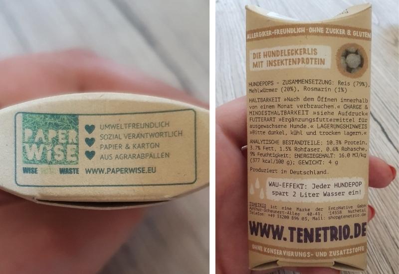 TENETRIO nachhaltige Verpackung