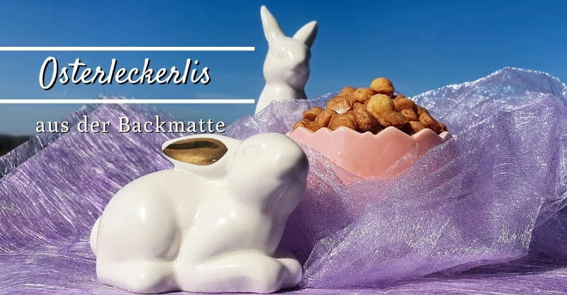 Read more about the article Osterleckerlis aus der Backmatte