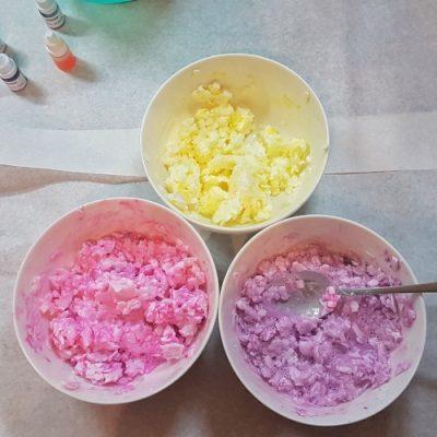 DIY-Seife in Vorbereitung