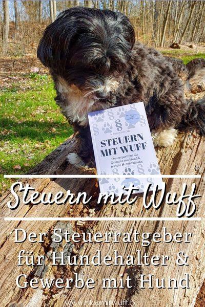 Steuern mit Wuff der Steuerratgeber rund um den Hund Pin