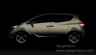 Al Salone Internazionale dell'Auto di Ginevra, Opel espone in anteprima mondiale Meriva Concept