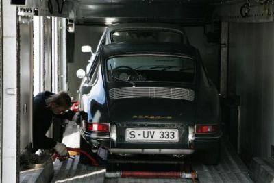 Il nuovo Museo Porsche di Stoccarda accoglie i primi pezzi dell'esposizione