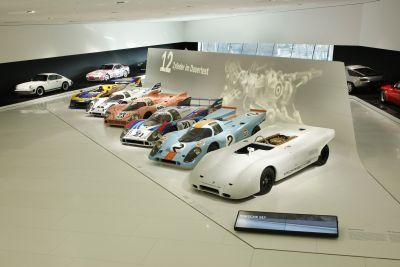 La mitica Porsche 917 compie quarant'anni