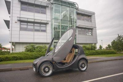 Riversimple Urban Car vettura open source, low-cost con alimentazione ad idrogeno 01