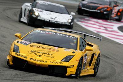 Lamborghini Petri Corse fa l'en-plein nel Super Trofeo 00