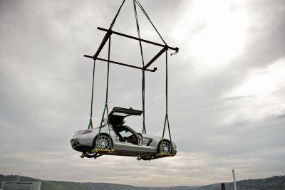 Le immagini della SLS AMG Gullwing al Museo Mercedes Benz 00