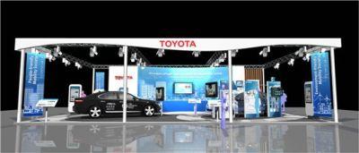 Toyota partecipa al 17 congresso mondiale sui sistemi intelligenti di trasporto a busan in Corea