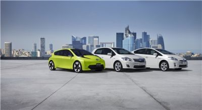 Toyota nel piano eco-car 11 nuovi modelli ibridi entro il 2012 e la iQ elettrica