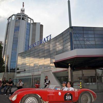 Maserati alla 1000 Miglia: i modelli che hanno fatto la storia del Tridente protagonisti dell'edizione 2012