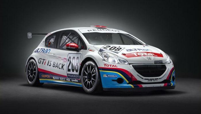 La Peugeot 208 GTi Sport alla 24 ore del Nurburgring