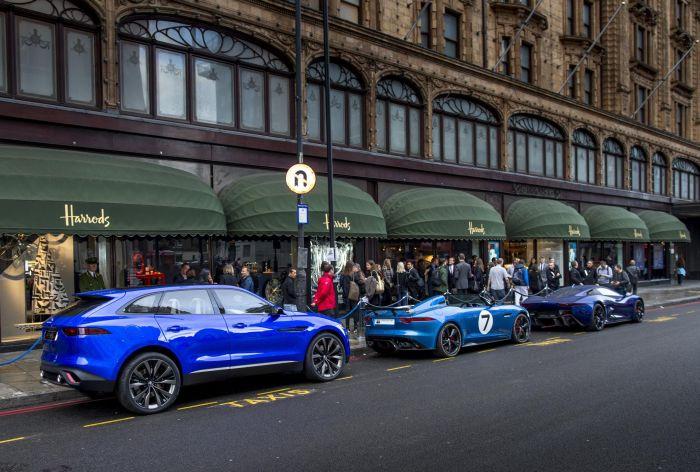 'Wallpaper Handmade with Jaguar' and C-X17 concept car 04