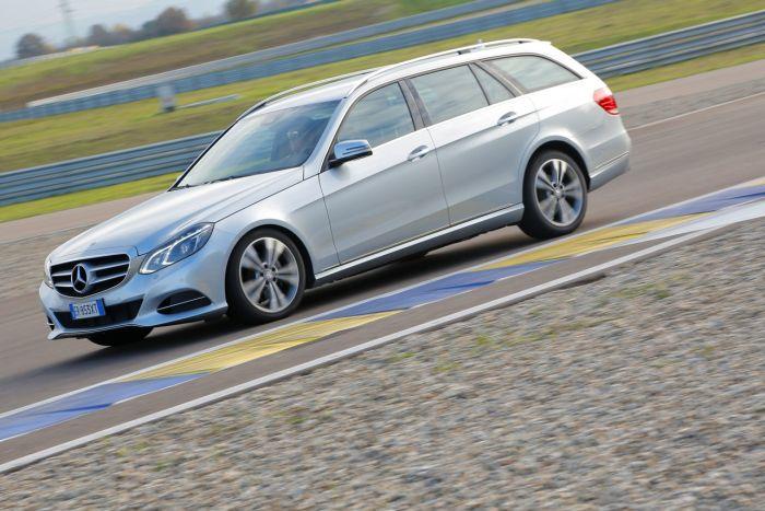 Abbiamo testato la Mercedes Classe E BlueTEC Hybrid all'Autodromo di Modena. Ecco come va. BlogMotori.com 2