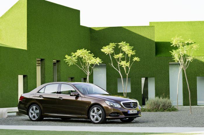 Mercedes-Benz Classe E BlueTEC Hybrid Test-Drive Autodromo di Modena BlogMotori.com