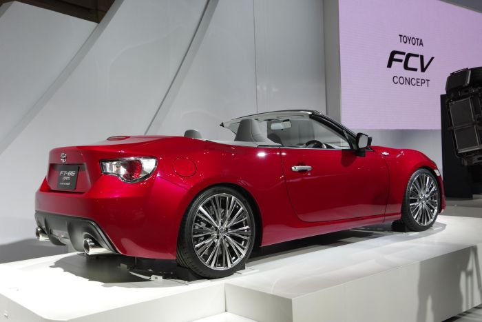 Toyota FT-86 Open Concept al Tokyo Motor Show