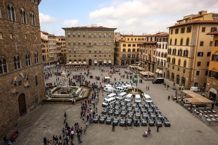 Firenze modello di Mobilità Sostenibile grazie 70 veicoli elettrici Renault
