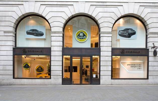 Lotus Brand Centre opens in Piccadilly
